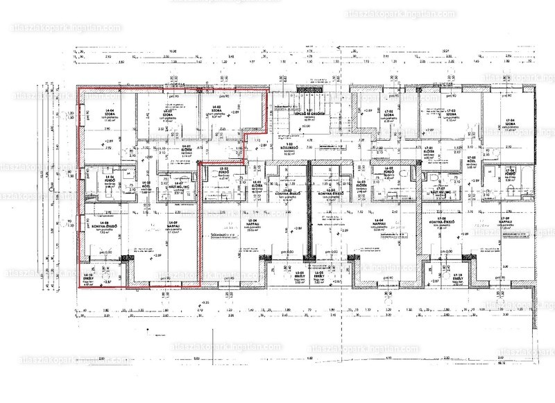 Atlasz Lakópark - 4 szoba erkéllyel