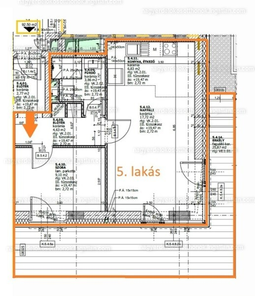 Nagyerdei okosotthonok - 2 szoba erkéllyel