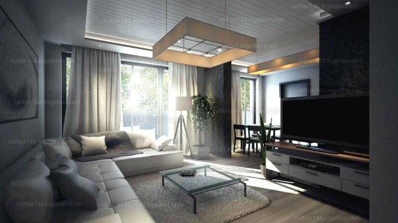 Izzó Garden - 1 szoba erkéllyel