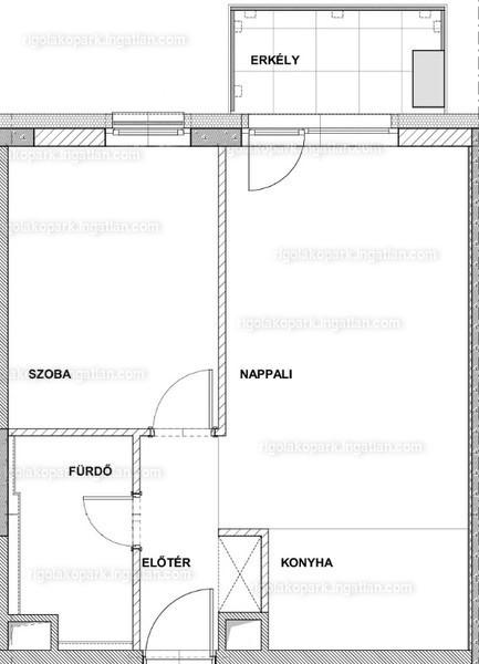 Rigó III lakópark - 2 szoba erkéllyel