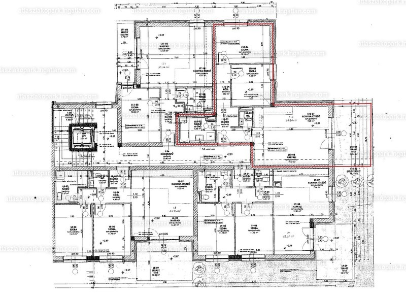 Atlasz Lakópark - 3 szoba kertkapcsolattal