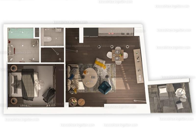 Kassák Ház - 2 szoba erkéllyel