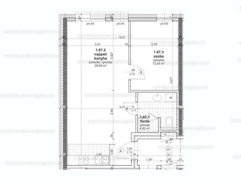 1 + 1 szoba