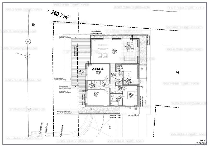 Lucerna Köz - 4 szoba erkéllyel