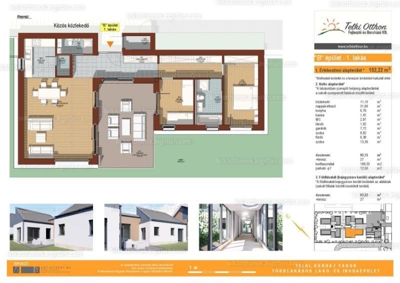 Telki otthonok - 3 szoba
