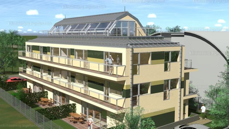 Kikötő sétány apartmanok - 2 + 1 szoba