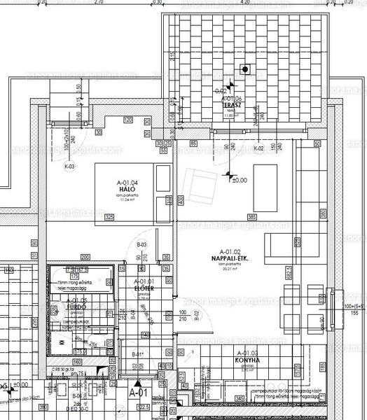 Panoráma Liget - 2 szoba kertkapcsolattal