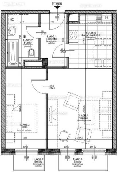 Ha11er - 2 szoba erkéllyel