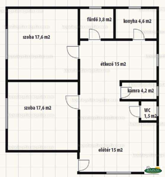 Ingatlan, eladó ház, Mozsgó, Baranya , 80 m2
