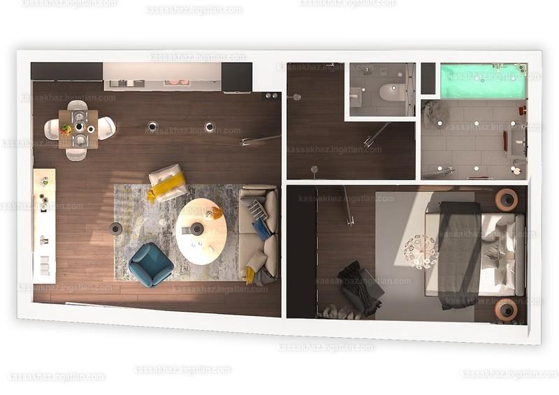 Kassák Ház - 2 szoba