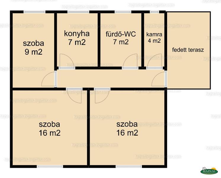 Ingatlan, eladó ház, Csertő, Szabadság utca 1/4, 63 m2