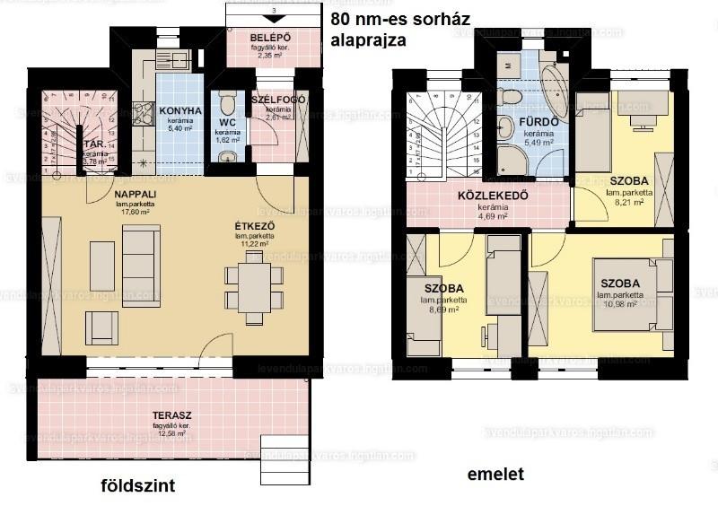 Levendula Parkváros Győr - 4 szoba