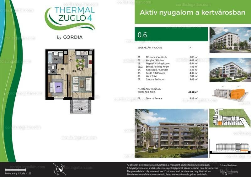 Thermál Zugló 4 by Cordia - 2 szoba erkéllyel