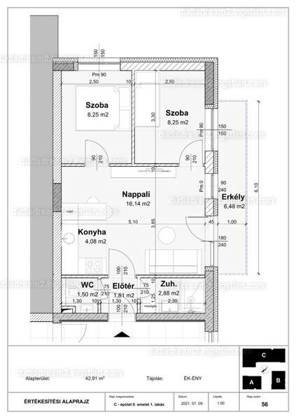 Dudi's Dream Lakópark 2.ütem - 3 szoba erkéllyel