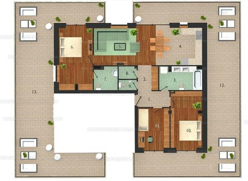 Homokkerti Lakópark - 4 szoba erkéllyel