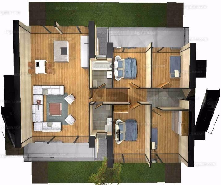 Pelso Bay Alsóörs - 4 szoba erkéllyel