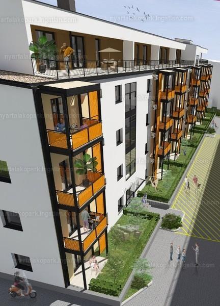 Nyárfa lakópark I. ütem - 3 szoba kertkapcsolattal
