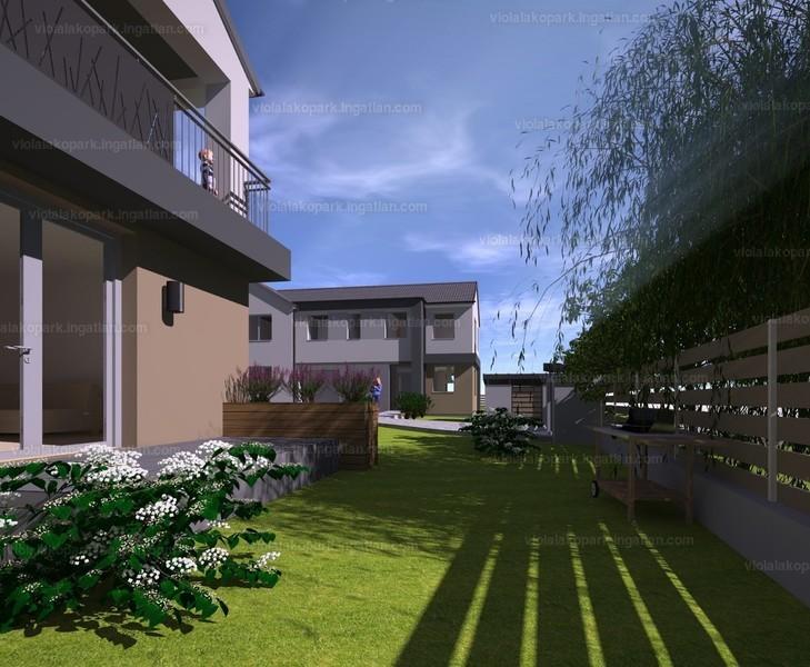 Viola lakópark - 5 szoba kertkapcsolattal