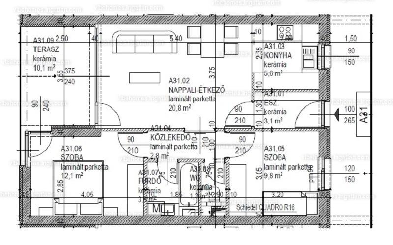 Vibe Homes - 3 szoba erkéllyel