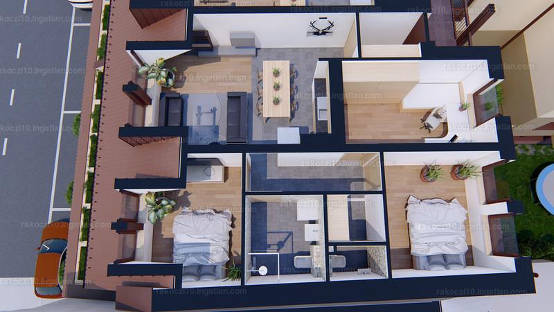 Rákóczi10 Lakópark - 4 szoba