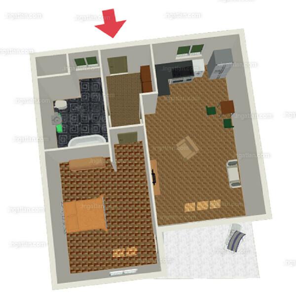 Semiramis Garden - 4 szoba erkéllyel
