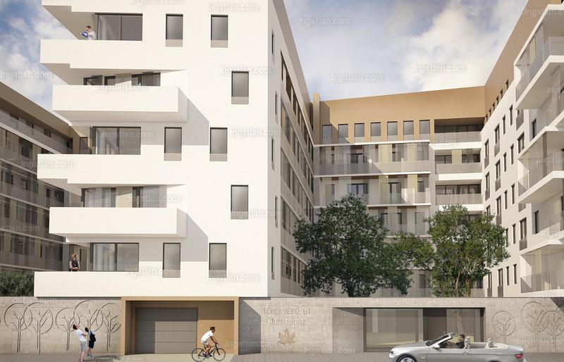 Savoya-ház - 3 + 1 szoba erkéllyel
