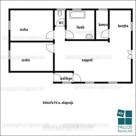Ingatlan, eladó ház, Helesfa, Fő utca 24., 91 m2