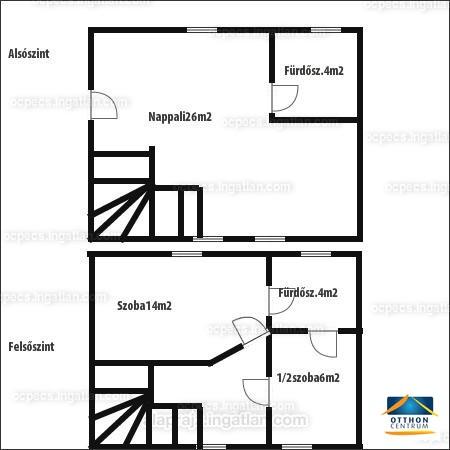 Ingatlan, eladó ház, Cserkút, Baranya , 54 m2