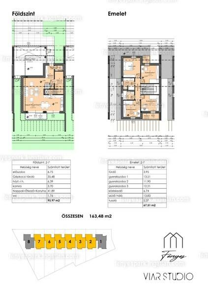 Fényes Park Családi házak - 4 szoba