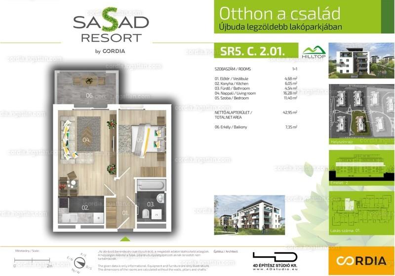 Sasad Resort Hilltop by Cordia - 2 szoba erkéllyel