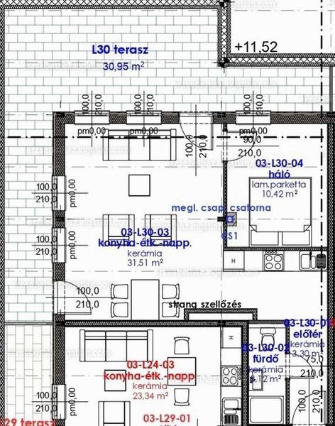 Erzsébetház - 2 szoba erkéllyel