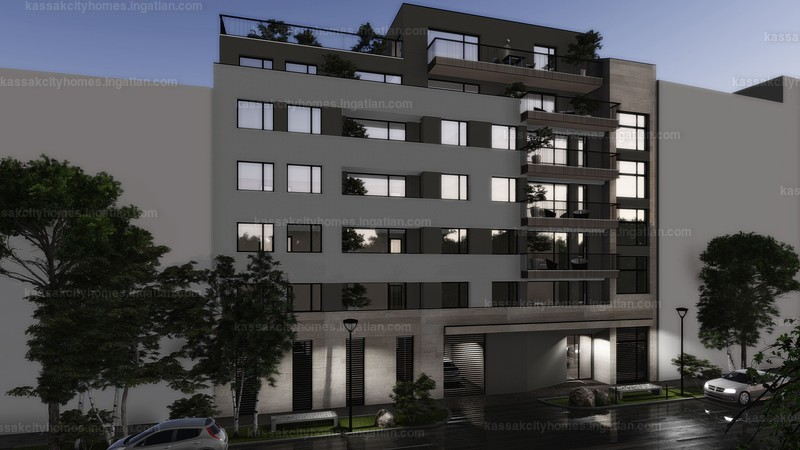 Kassák City Homes - 1 szoba erkéllyel