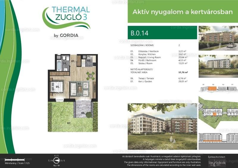 Thermal Zugló 3 by Cordia - 2 szoba kertkapcsolattal