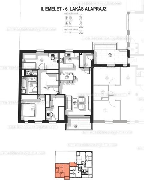 Smart Residence - 4 szoba erkéllyel
