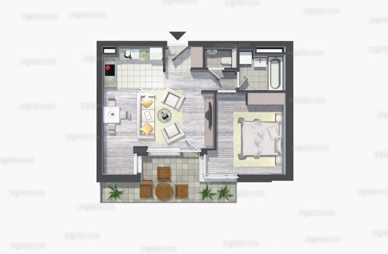 Kelenliget Ház - 2 szoba erkéllyel