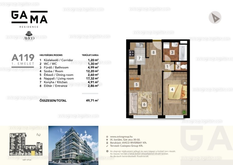 GAMA Residence - 2 szoba