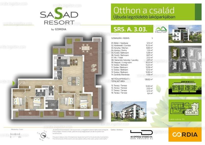 Sasad Resort Hilltop by Cordia - 5 szoba erkéllyel