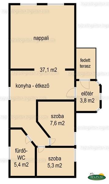 Ingatlan, eladó ház, Botykapeterd, Kossuth utca 28.