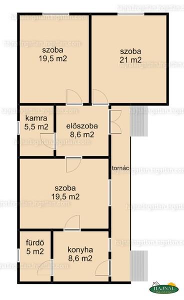 Ingatlan, eladó ház, Magyarlukafa, Fő utca 38., 88 m2