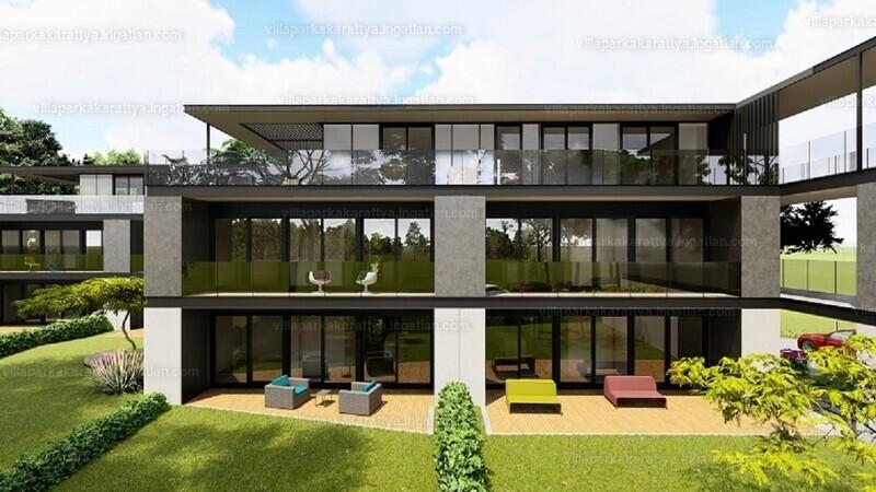 Villapark Akarattya - 3 szoba erkéllyel
