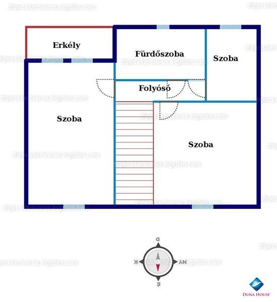 Ingatlan, eladó ház, Görcsöny, Munkácsy Mihály utca, 97 m2