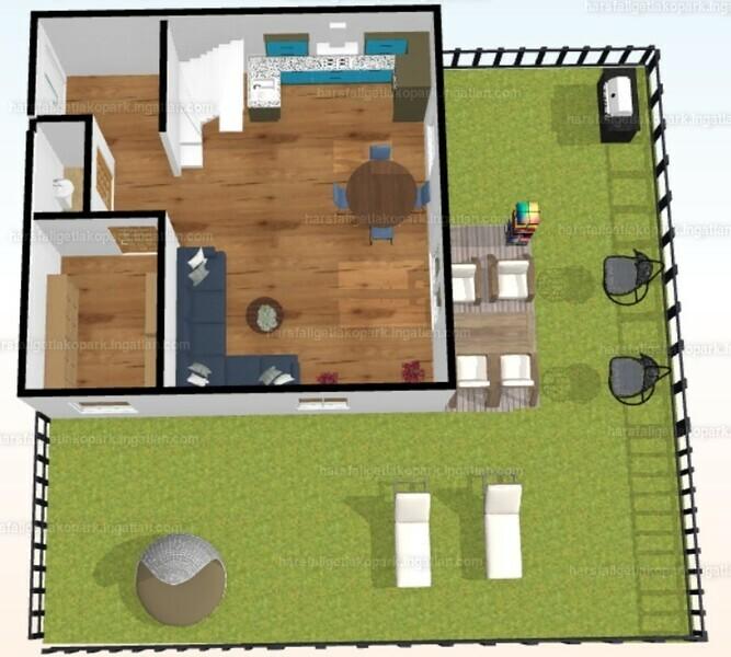 Hársfaliget Sorházak - 4 szoba