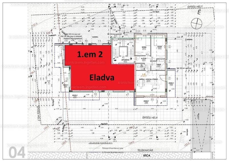 Rozsdafarkú utca 9. - 3 szoba erkéllyel