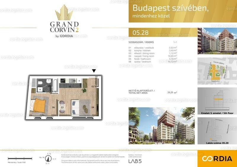 Grand Corvin 2 by Cordia - 2 szoba
