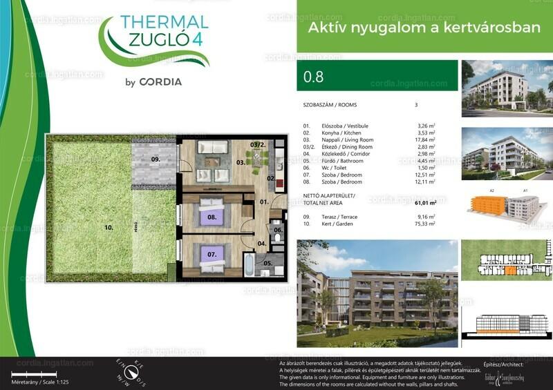 Thermál Zugló 4 by Cordia - 3 szoba erkéllyel