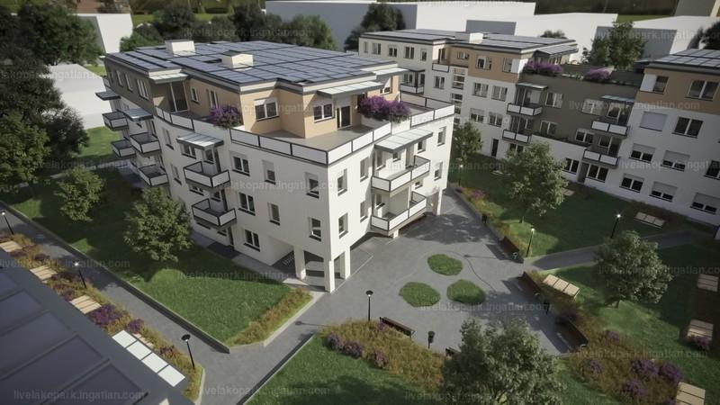 LIVE lakópark - 3 szoba erkéllyel