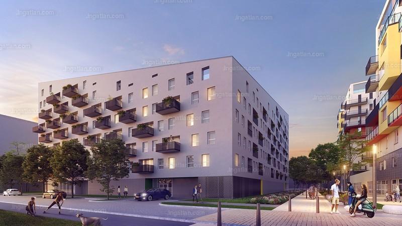Dagály Park 2. ütem - 1 + 1 szoba erkéllyel