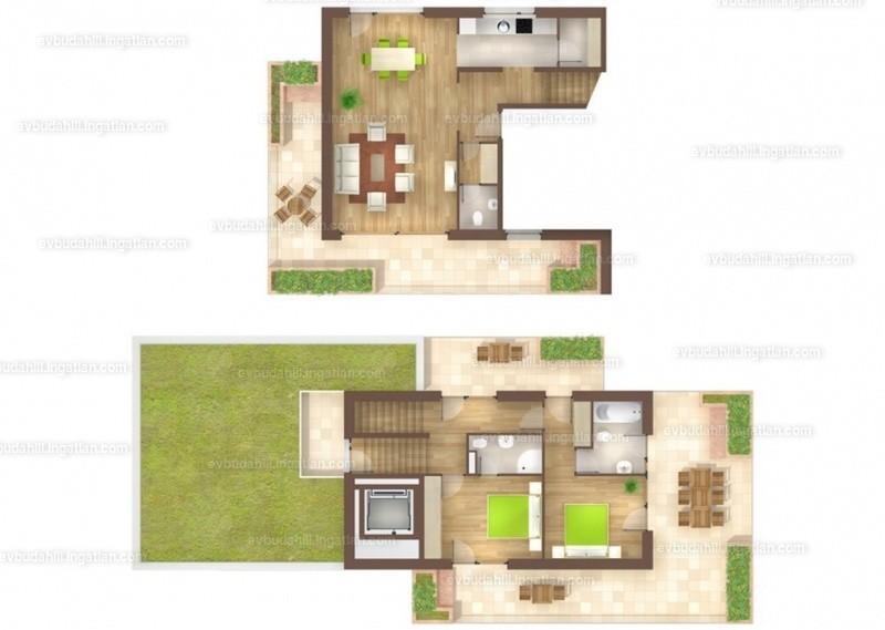 E&V Budahill - 3 szoba erkéllyel