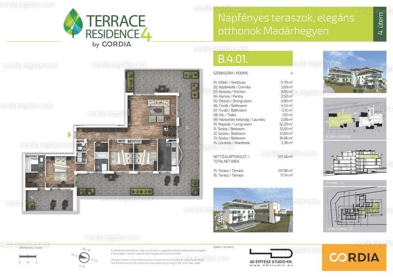 Terrace Residence 4 by Cordia - 4 szoba erkéllyel