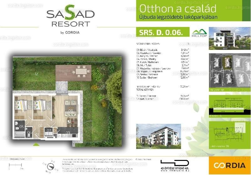 Sasad Resort Hilltop by Cordia - 3 szoba kertkapcsolattal